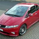 HONDA CIVIC RED
