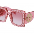crazy pink gucci glasses