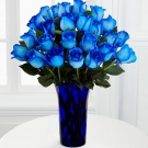 Bouquet of blue roses