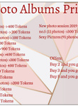 Photo Albums Price List