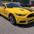 Ford Mustang GT Prem Yellow !!!