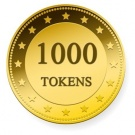 1000 TOKENS ...