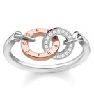 THOMAS SABO RING TOGETHER DIAMOND