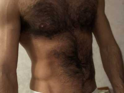 hairymuscled