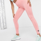 HIIT Pink Ruffled Leggings (xs)
