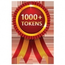 1.000 TOKENS