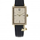RADLEY LONDON Primrose Hill Black Leather Charm Watch