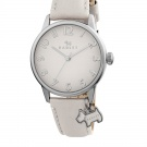 RADLEY LONDON Blair Cream & Silver-Tone Leather Watch