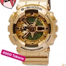 Sport watch G Shock in gold !