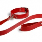 RANI LEATHER COLLAR & LEAD