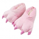 MiziHome Unisex Soft Paw Claw Home Slippers Animal Costume Shoes
