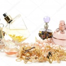 perfumes or jewelry