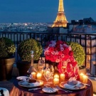 Paris tour and dinner