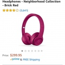 Beats wireless headphones