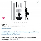 Amazon Spinning Stripper Pole