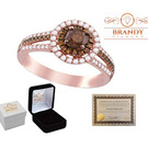 Rose Gold Diamond Brandy café Chocolate