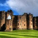 i would like to visit Alnwick Castle, Northumberland, England to see Hogwarts in real