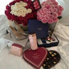 Who doesnt love chocolate and red roses ?:X