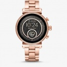 Rose gold Watch with diamond face
