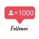 To have 1000 followers/fans