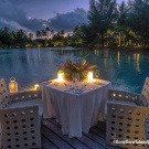 Romantic dinner, Maldives and so on