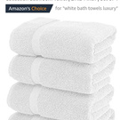 Luxury White Bath Towels