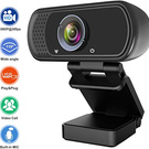 Webcam with Microphone, Hrayzan 1080P HD
