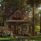 Cute cozy little house)