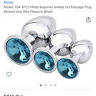 Pretty Jeweled Butt Plugs