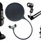 BLUE YETI BLACKOUT STUDIO со ШТАТИВОМ