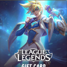 League of legends gift cards NA LAN