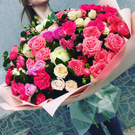 I love flowers, I really want to have such a floral bouquet