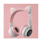 kitty headphones/audifonos de gatito