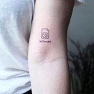 A tattoo about a member.