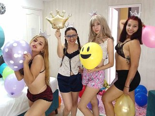 PARTY-LATIN: Live Cam Show