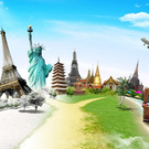 travel explore and know many cultures