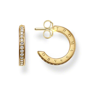 THOMAS SABO GLAM & SOUL HINGED HOOPS