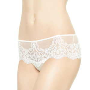 La Perla Light and Shadow Thong White