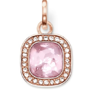 THOMAS SABO GLAM & SOUL PENDANT PINK COSMO