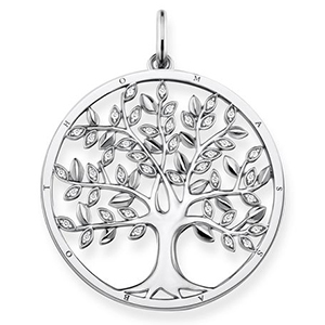 THOMAS SABO GLAM & SOUL  PENDANT TREE OF LOVE