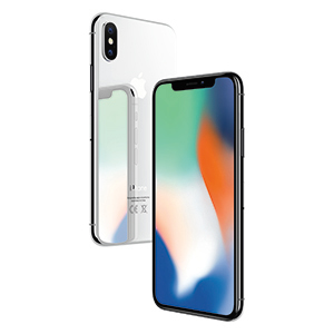 Apple iPhone X 64GB Silver 20000 tok