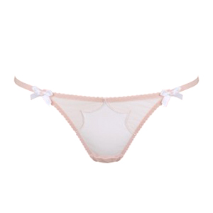 Agent Provocateur Lorna Thong Nude And White