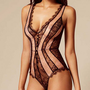 Agent Provocateur Saffi Body Black And Nude