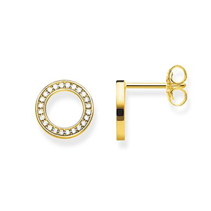 THOMAS SABO EAR STUDS CIRCLES LARGE