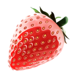 I want to eat strawberry with you my love ????