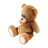Cute Teddy-bear for cute smiling girl